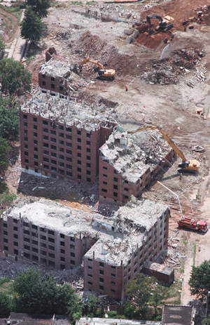Interior & Exterior Demolition Services - Central Jersey Wrecking & Recycling Inc.